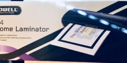BARELY USED Laminator