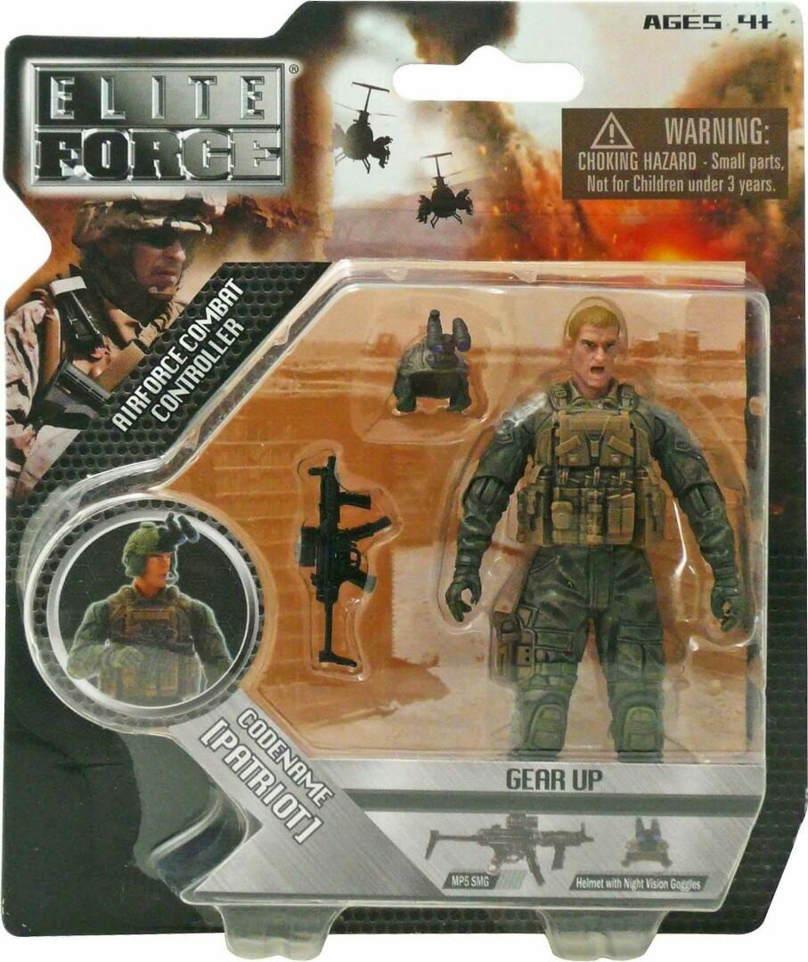 Elite Force 1 18 Toy : Bbi elite force quot patriot inch action figure scale