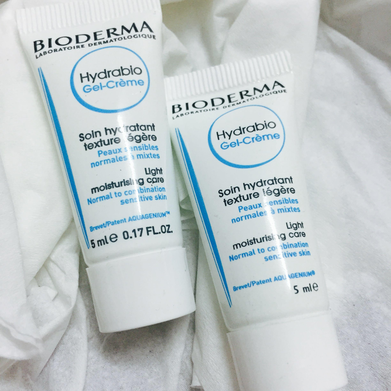 Bioderma hydrabio serum gel creme essence lotion