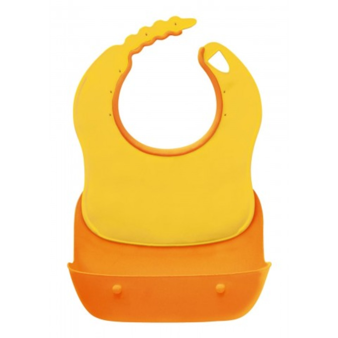Blove 日本 Combi 嬰兒Bib 嬰兒圍嘴圍咀 防跌飯防水飯兜 BB口水巾軟膠口水肩 輕便圍兜 #CB03F