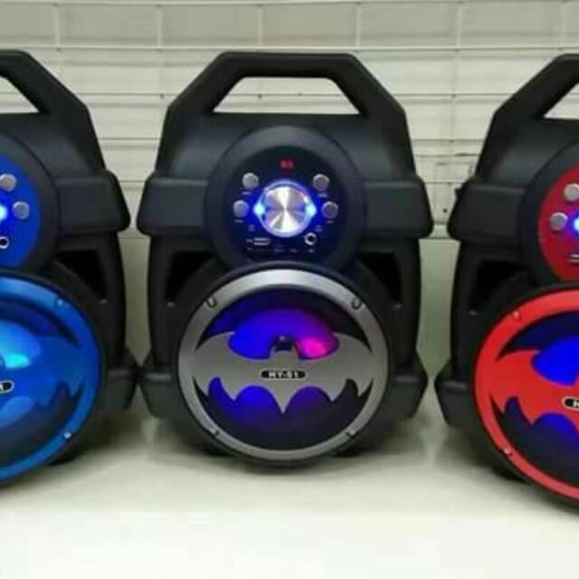 6d1ef03f0a3 High Quality HY-01 LED Super Bass Batman Bluetooth Speaker Subwoofer ...