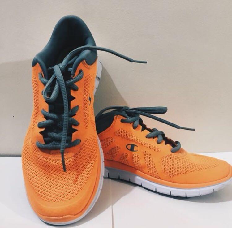 Champion Orange Shoes, Women's Fashion