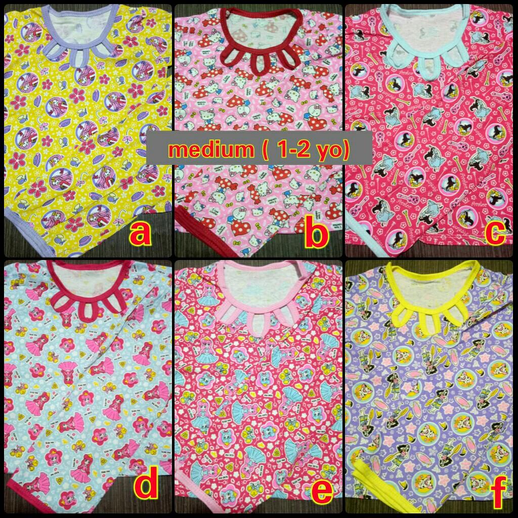 eb7ecdc43 Cotton terno pajama 1-2 yo