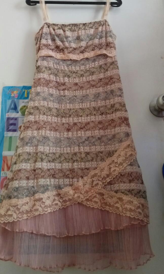 Dress pesta L