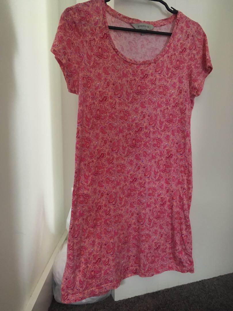 Emerson Vintage Pink Dress