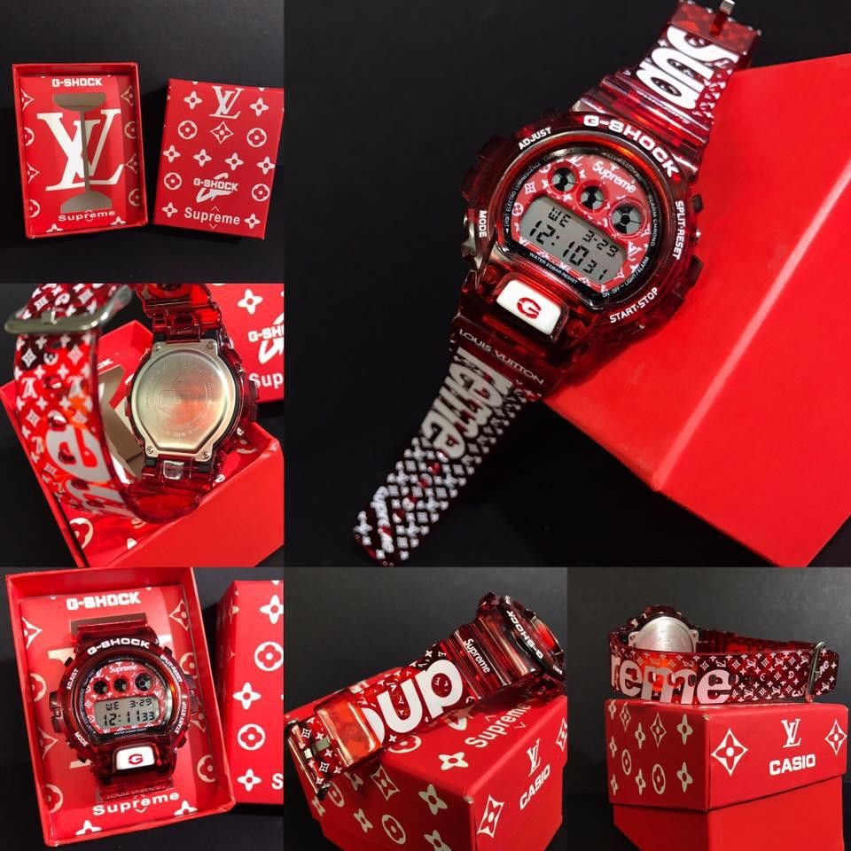 G Shock X Supreme Lv - Just Me And Supreme