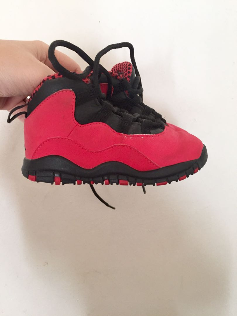 1c7da552968f Jordan 10 Retro Red and Black