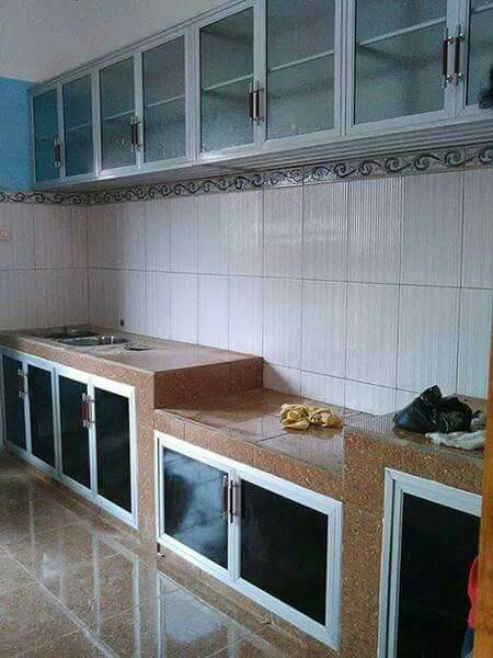 Kitchen Set Aluminium Home Furniture On Carousell