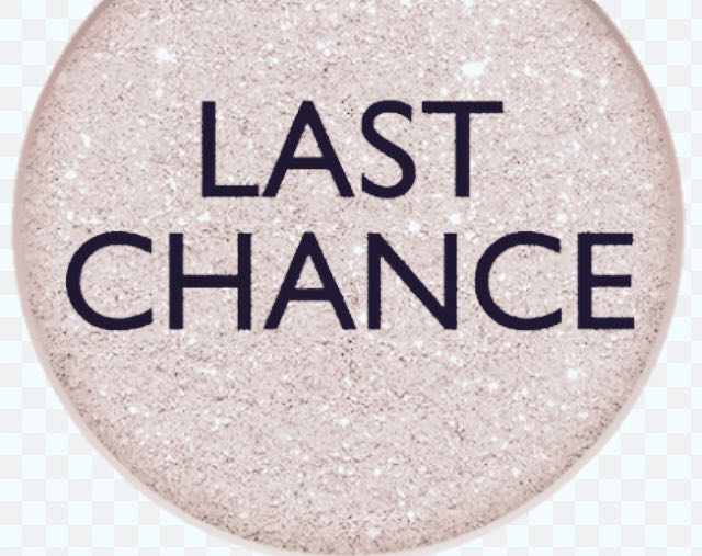 LAST CHANCE AT YOUR FREE ITEMS