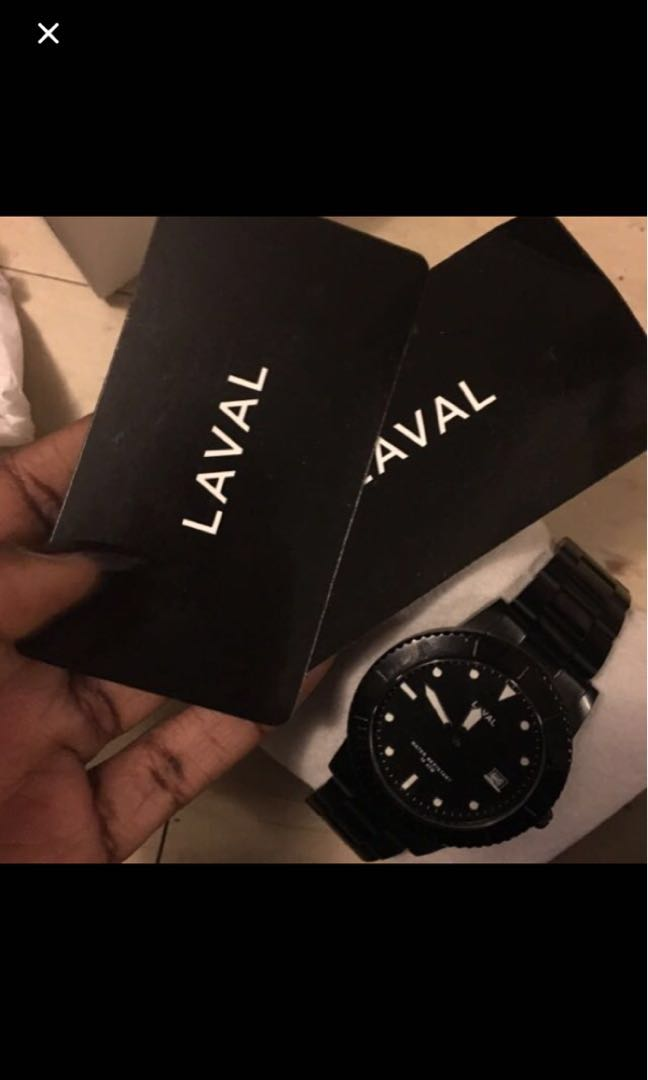 Laval watch