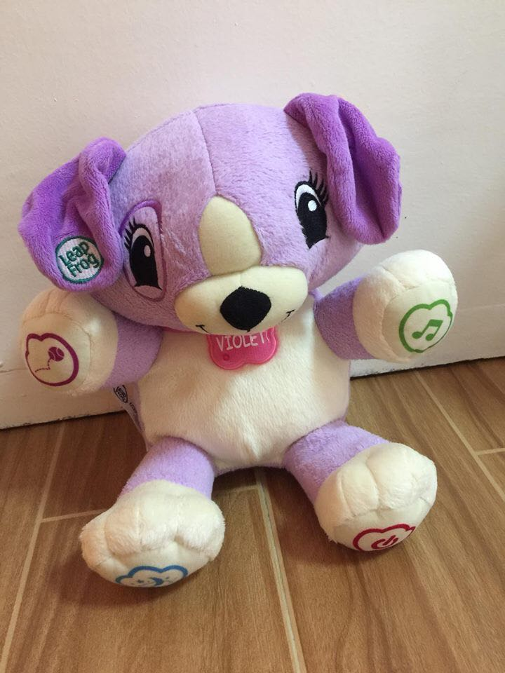 Leapfrog Pal Violet Babies Kids Toys Walkers On Carousell