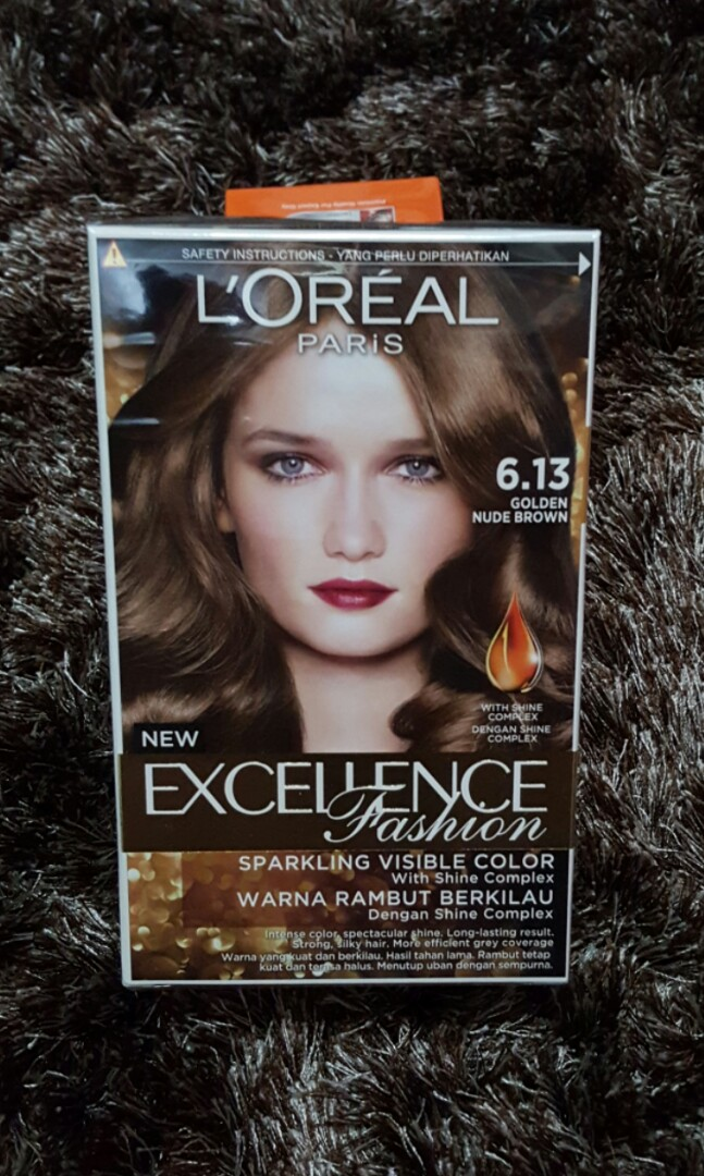 LOREAL Golden Nude Brown Hair Color