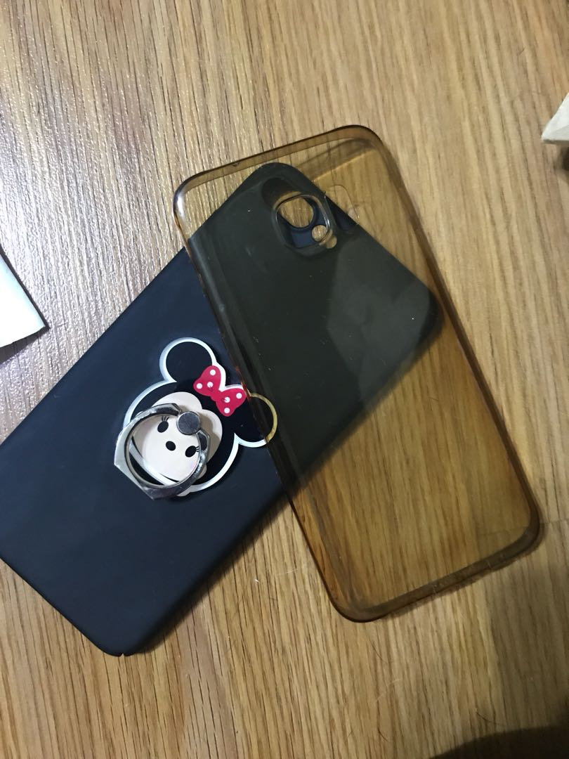 Lot of 2 Iphone 7 plus back casing