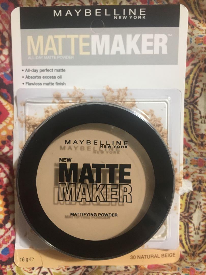 Maybelline Matte Maker Powder