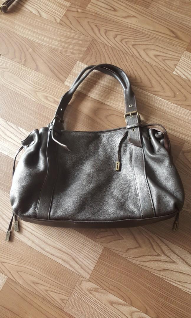Milleni Leather Bag Women S Fashion
