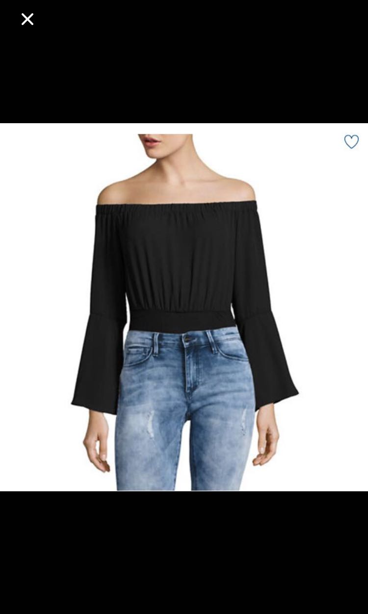 Missguided off the shoulder top