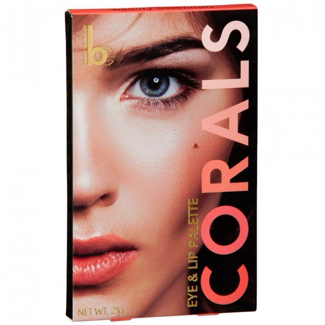 ~NEVER USED~ Beauty Essentials Coral Eye and Lip Palette [#117]