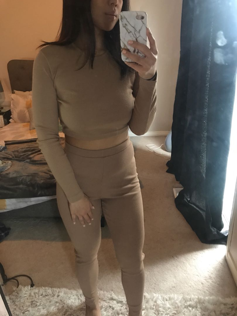 Nude two piece size M us 8