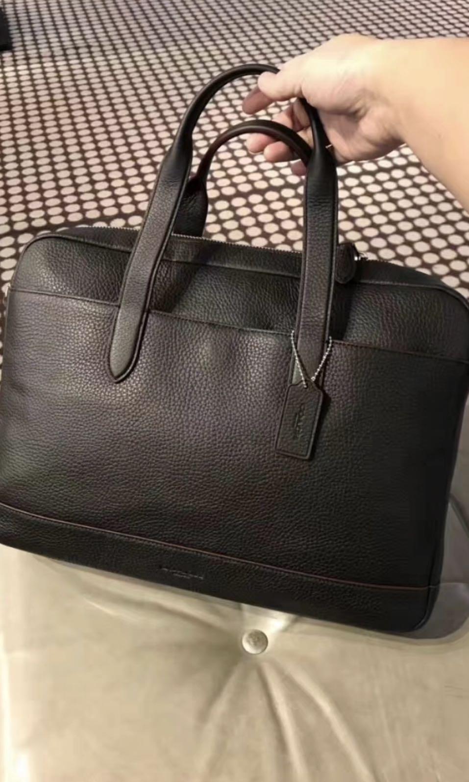 Original Coach Men Laptop Bag Handbag Computer Briefcase S Fashion Bags Wallets On Carou