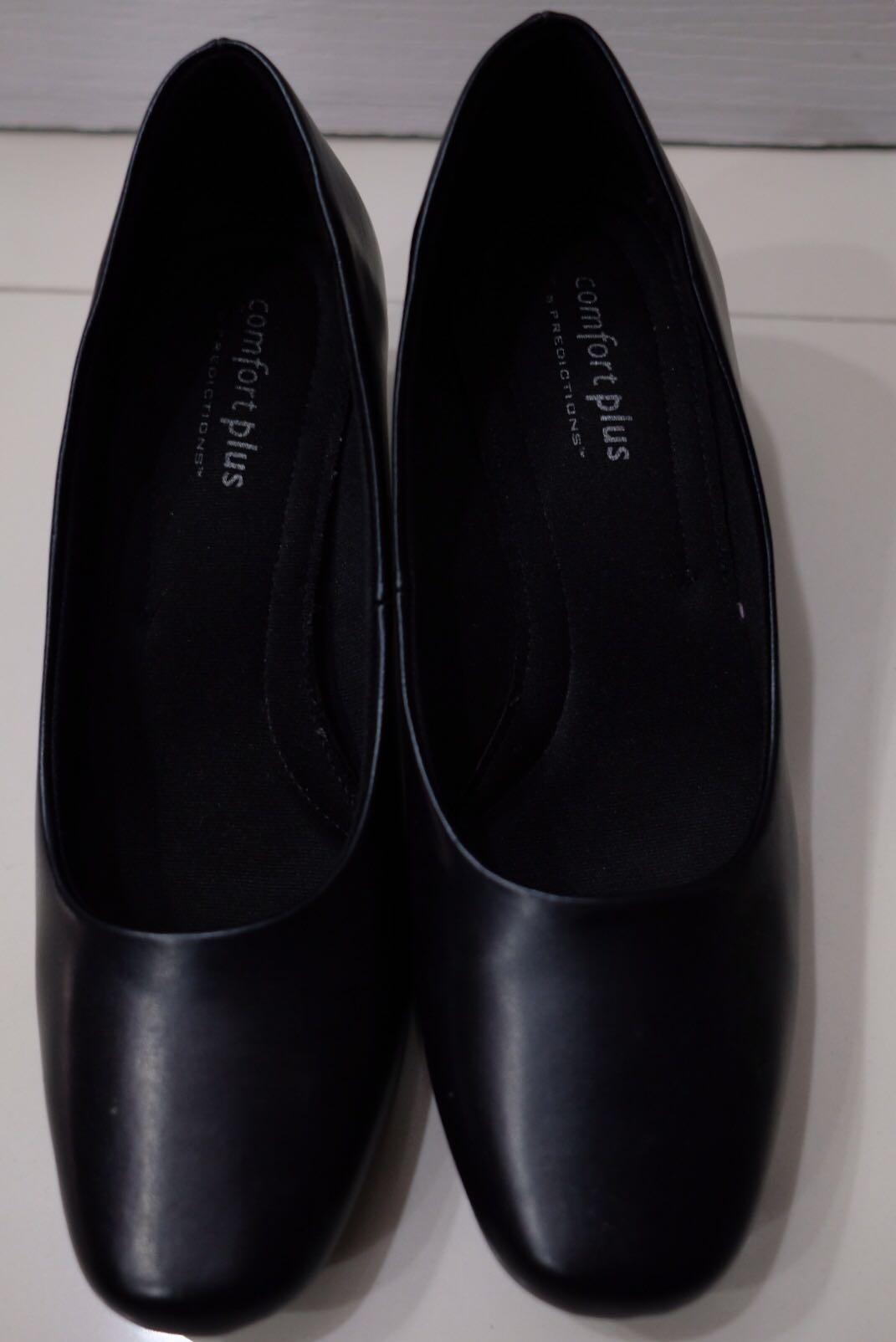 Payless Comfort Plus Black Shoes, Women