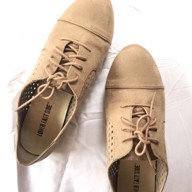 Payless lower east side tan brogues