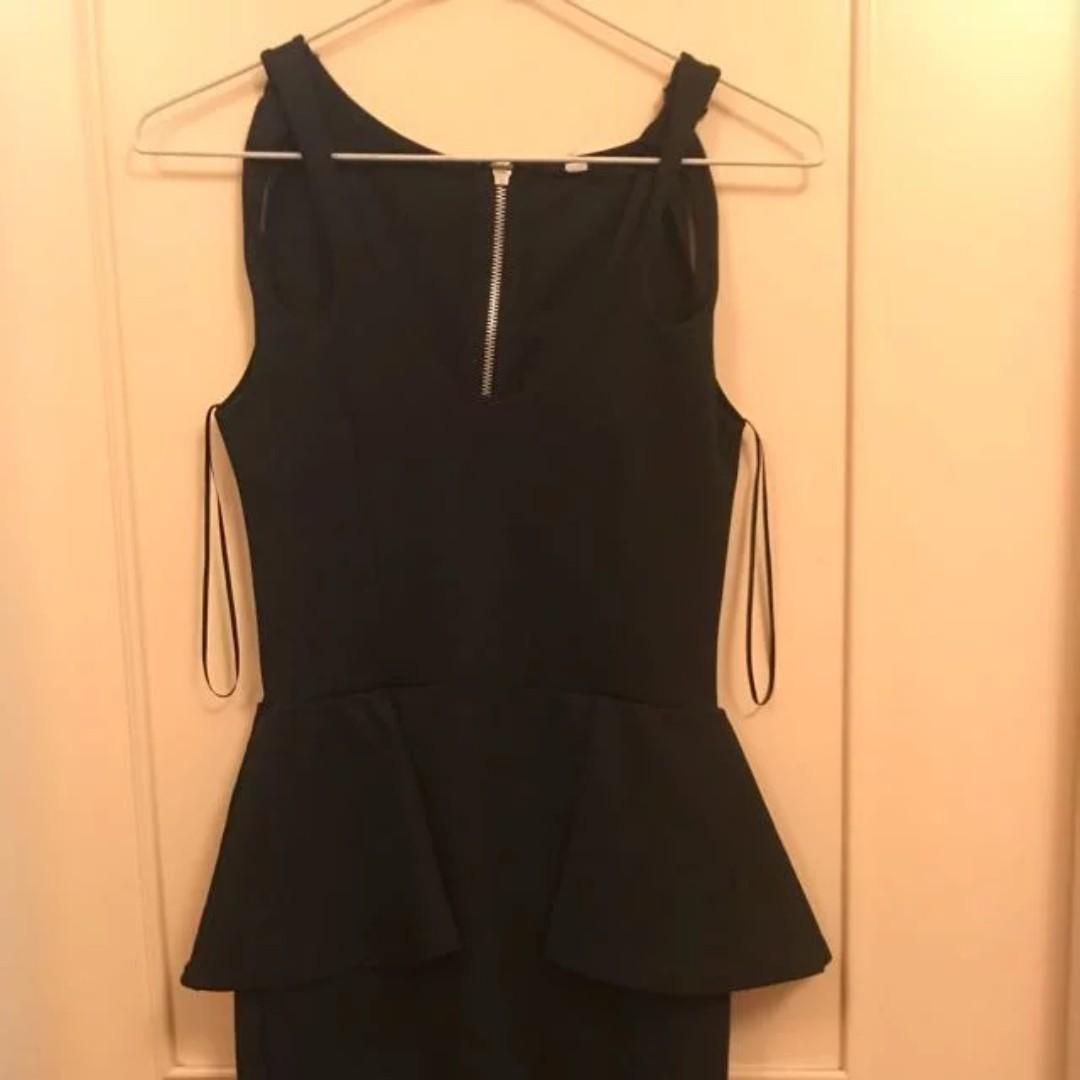 Peplum Formal Work Dress (size XS)