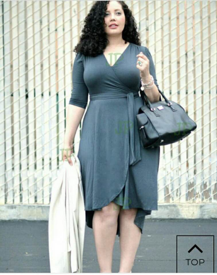 Plus Size Spandex Dress on Carousell