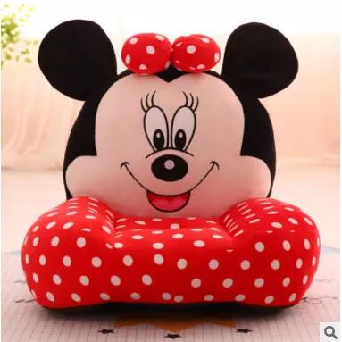 Po Kids Cute Mini Sofa Minnie Mouse Red Polka Dots Bulletin