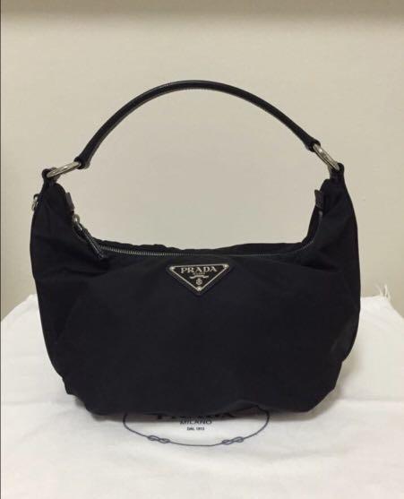 f867a6f94585e5 ... greece prada hobo bag womens fashion bags wallets on carousell b08a7  165be