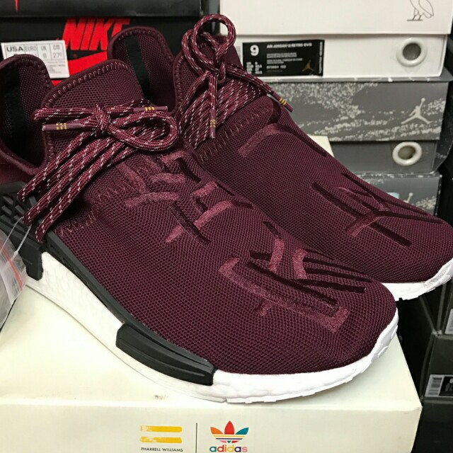 online retailer ce9e7 1c563 Pw Human Race NMD '' Pharrell Friends and Family '' on Carousell