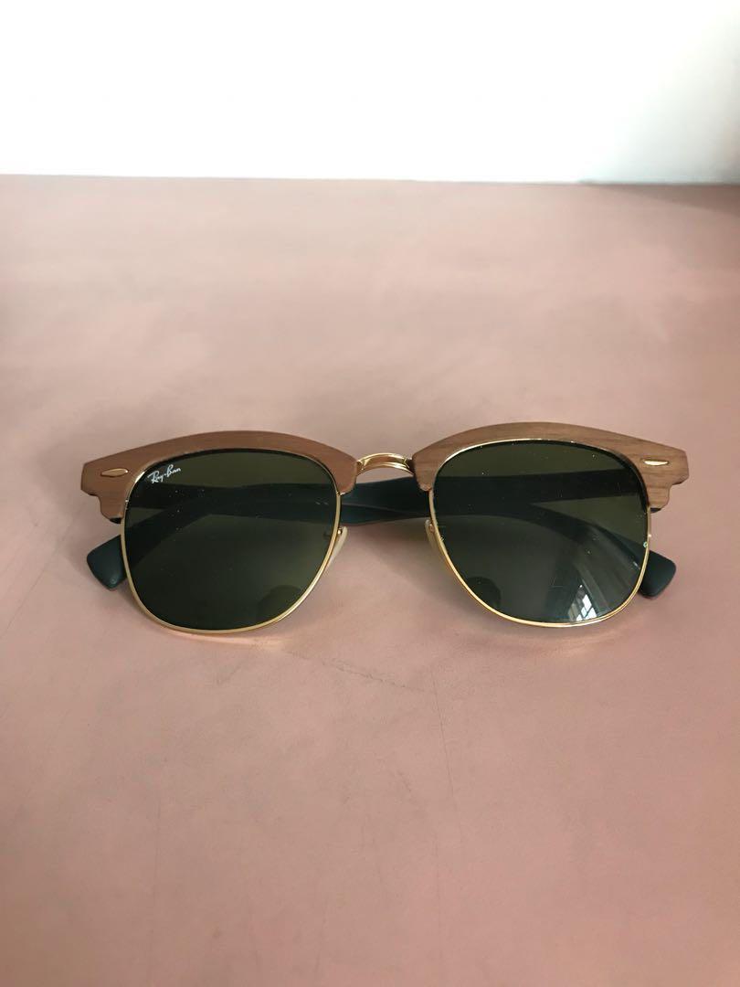 562fdc3b630d5 cheap rayban wayfarer wooden frame womens fashion accessories on carousell  b8e42 2574a