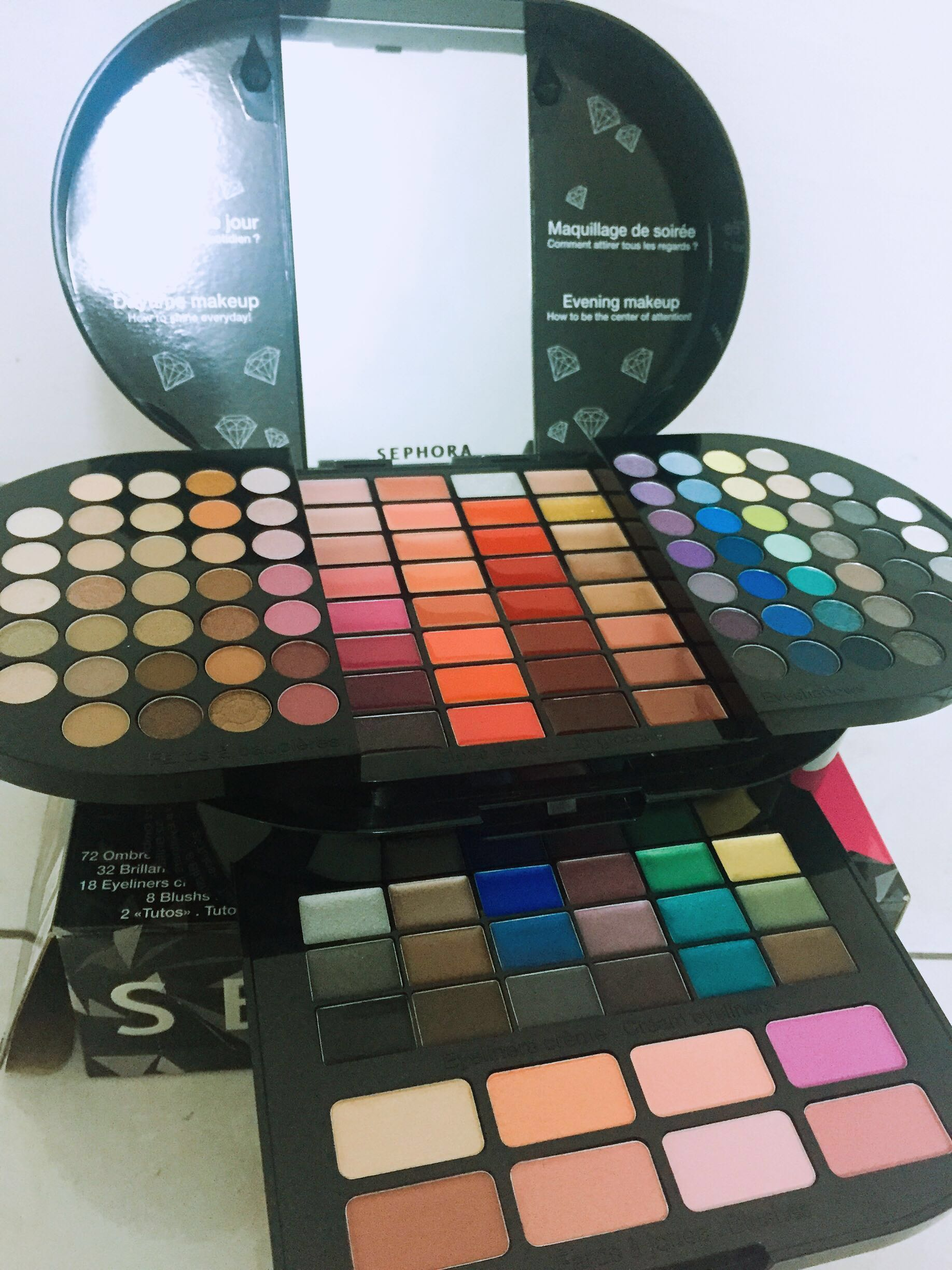 47f0bc653c2 Sephora Brilliant Makeup Palette, Health & Beauty, Makeup on Carousell