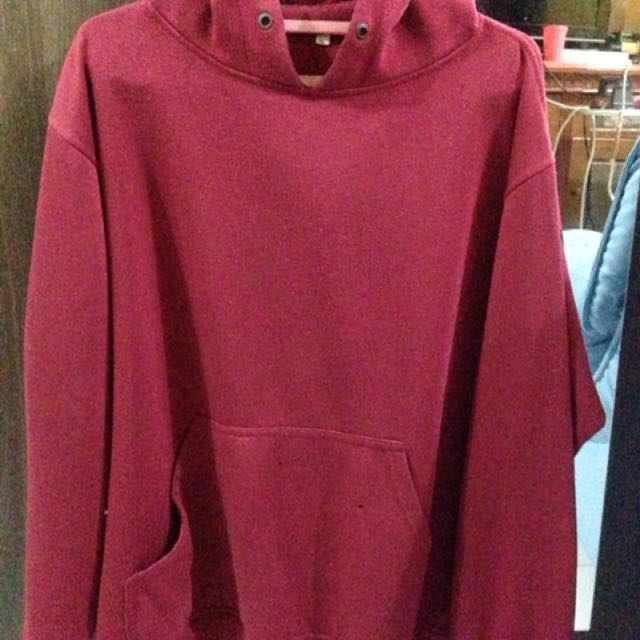 Sweater Polos Merah Maroon, Men's Fashion, Men's Clothes, Tops on Carousell
