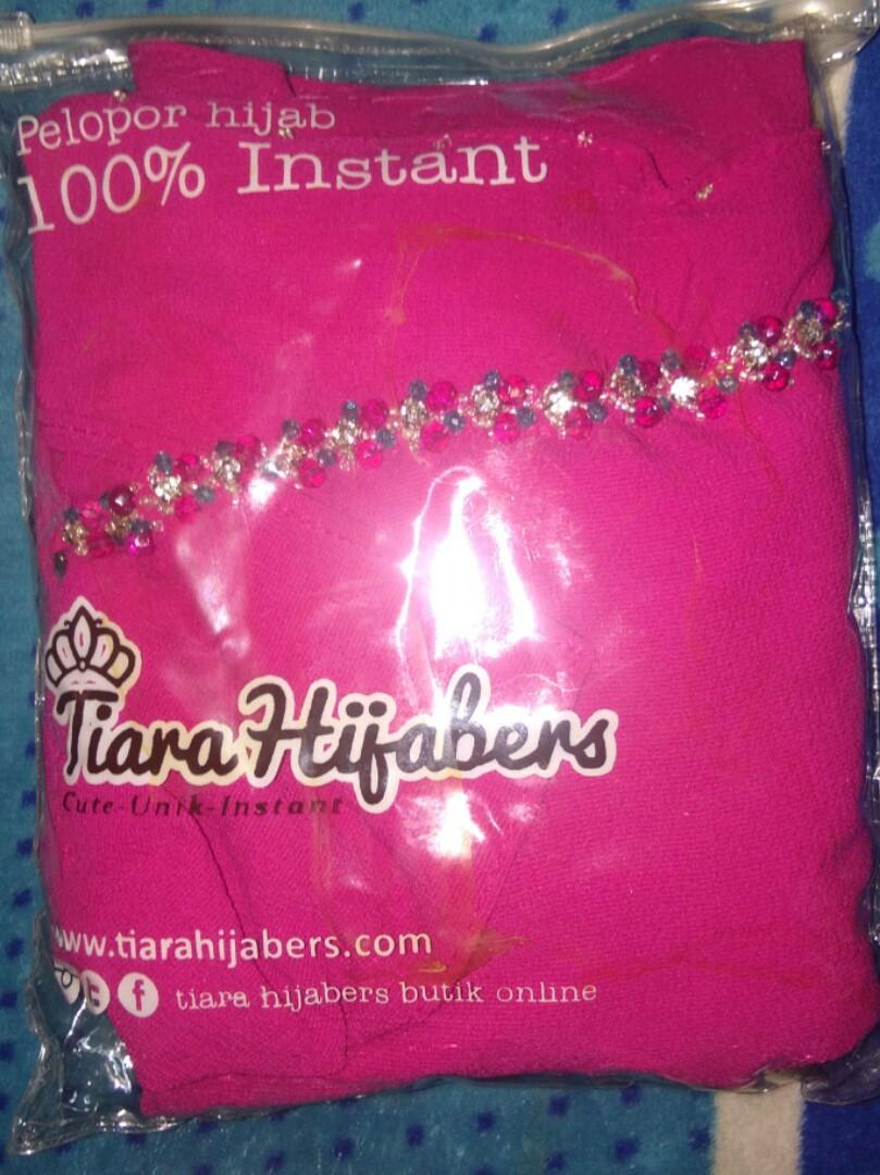 Tiara Hijabers Pasmina Instan 100 Pqac Quin Amora Crystal Fesyen Wanita Muslim Fashion Di Carousell