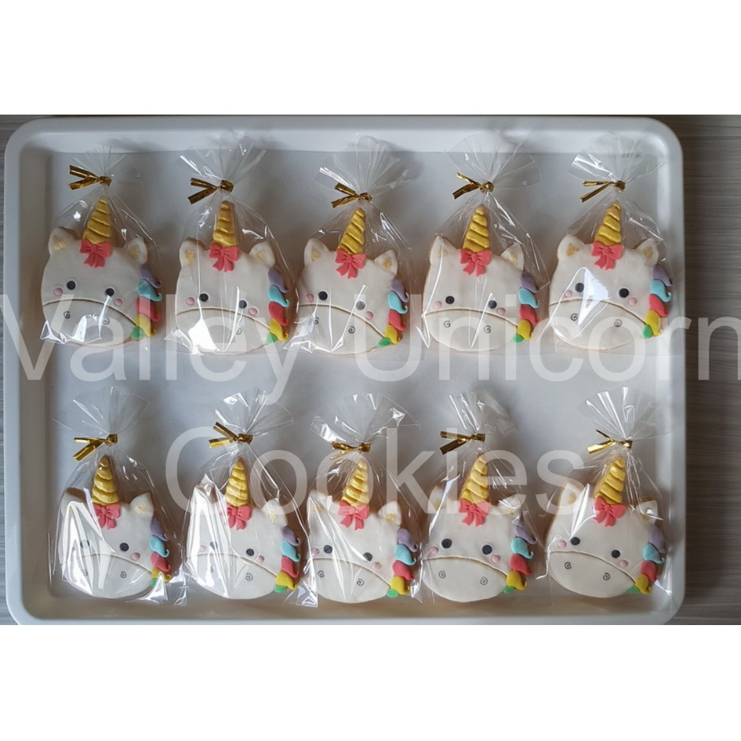 Unicorn Cookies Food Drinks Baked Goods On Carousell