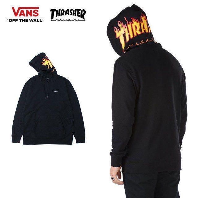 7eac7451b26a Vans x Thrasher Hoodie