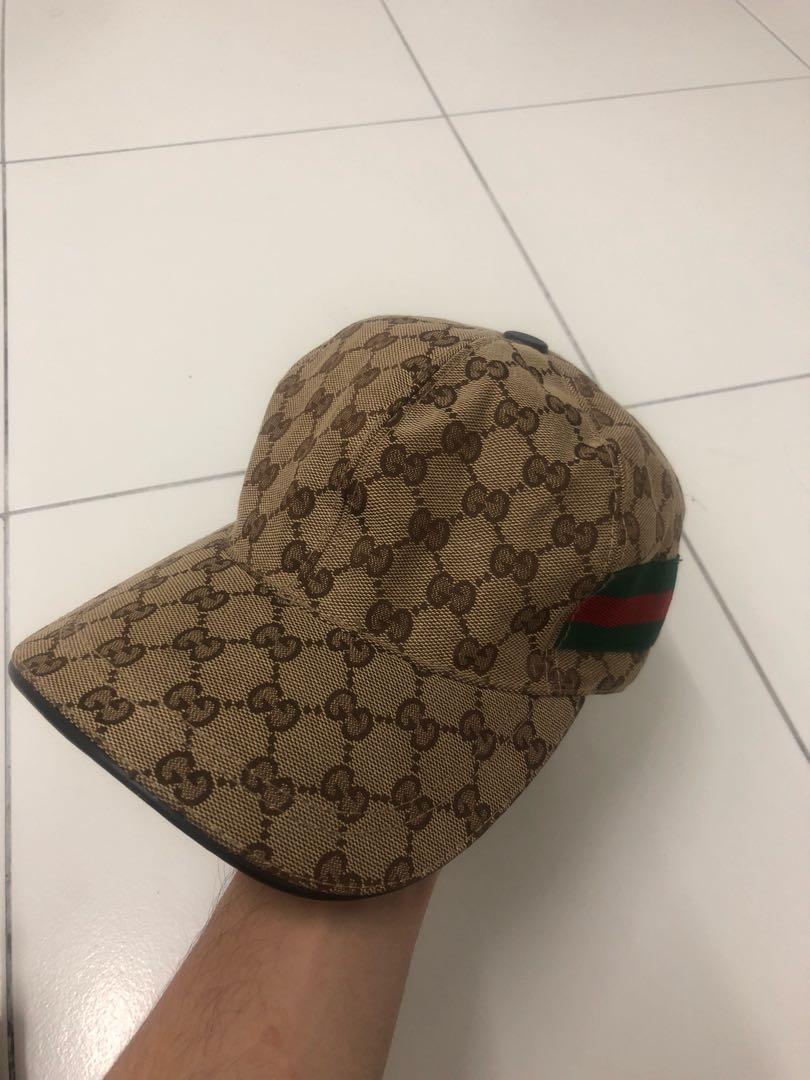 4a20f2002489f Vintage Gucci Cap Hat