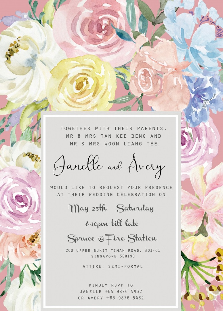 Wedding invite cards and stationery customisation and print, Design ...