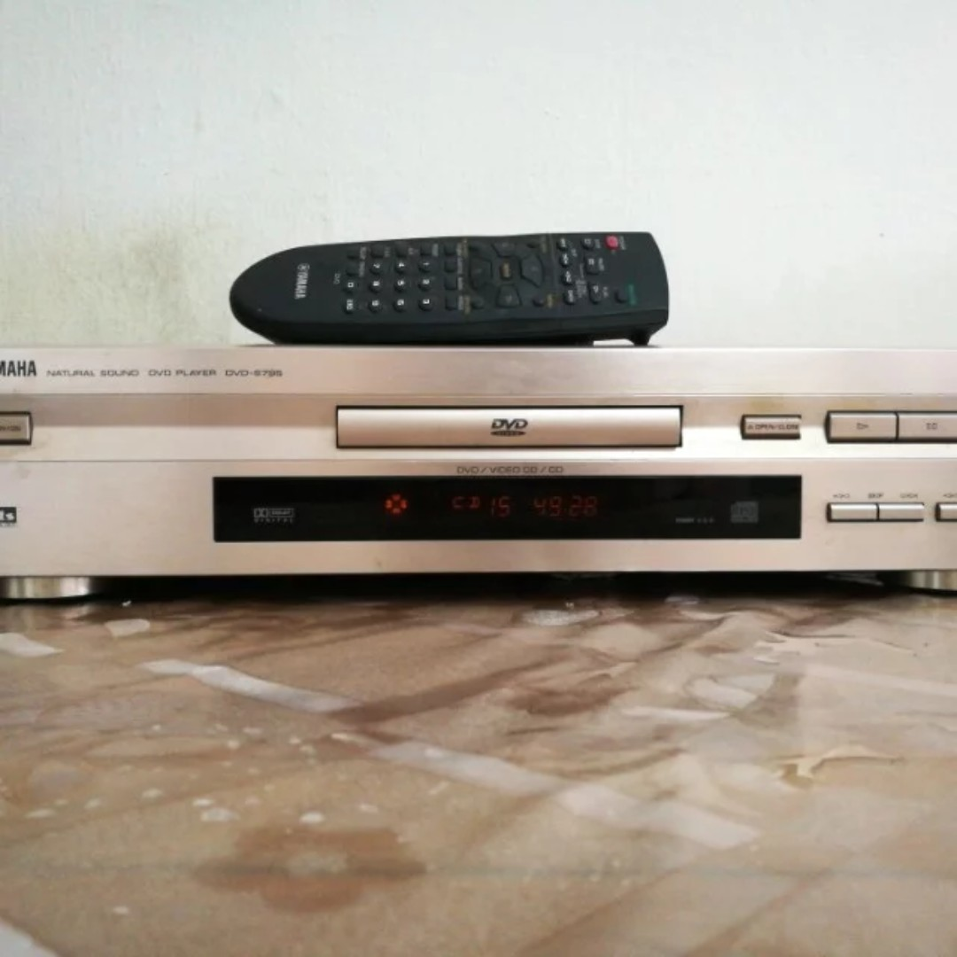 0415526c6 Yamaha DVD-s796 6, Home Appliances, TVs & Entertainment Systems on Carousell