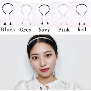 Korean style earrings headband
