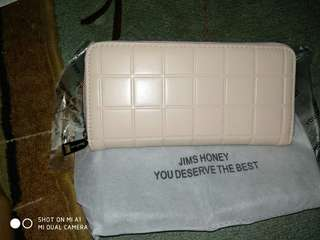 Dompet Jims Honey Soft Pink