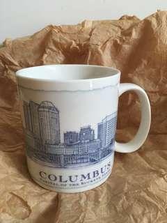 星巴克 COLUMBUS 藍建築杯。