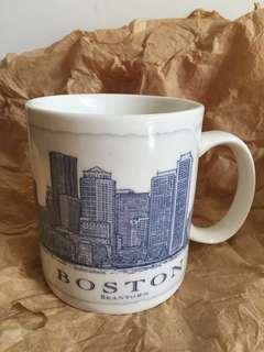 星巴克 BOSTON藍建築