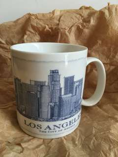 星巴克 Los Angeles藍建築杯。