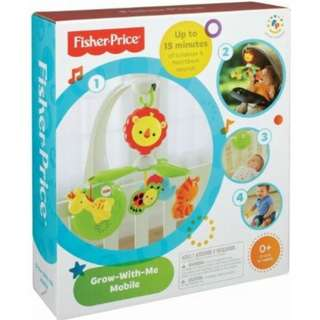 Fisherprice grow with me cot mobile