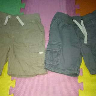 Bundle of Shorts for him(Size 2-3T)