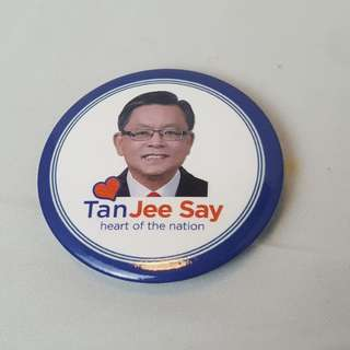 Tan Jee Say Heart of The Nation Badge (2011)