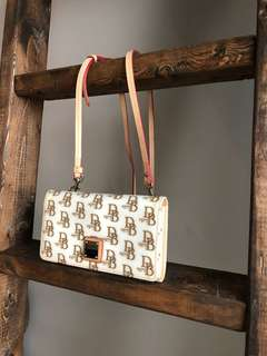 Dooney and Burke Purse in WHITE