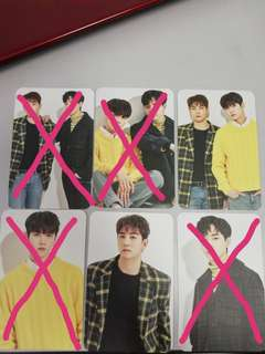 (WTS) Official Nuest MD Photocard White Vers.