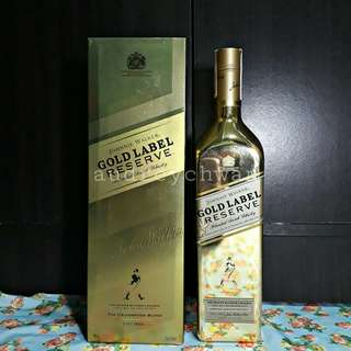Limited Edition Johnnie Walker Gold Label